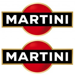 Kit 2 stickers Martini