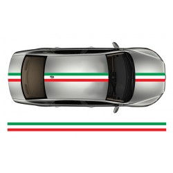 Bande drapeau italien